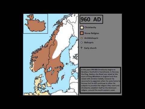 The Christianisation of Scandinavia