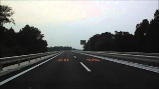 【車載動画】暫定全通した鬼怒テクノ通りを走ってみました