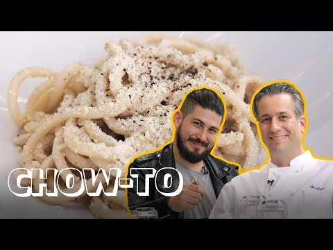 How to Make the BEST Cacio e Pepe in NYC! | CHOW-TO