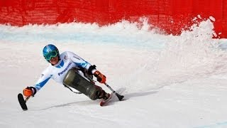 Alpine skiing highlights from the Sochi 2014 Paralympic Winter Games