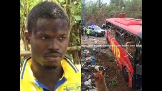 kintampo acc!dent: VVIP bus mate speaks on how the acc!dent happened