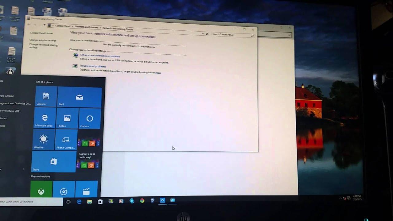 how to fix windows 10 wifi problem
