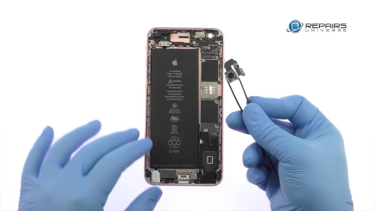 wholesale dealer 17d5f 7a4ce iPhone 6s Plus Rear Camera Replacement - RepairsUniverse