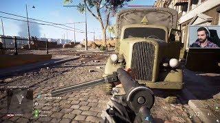 Battlefield V BETA #7 - POLE BITWY! ft. ŁosiuGra