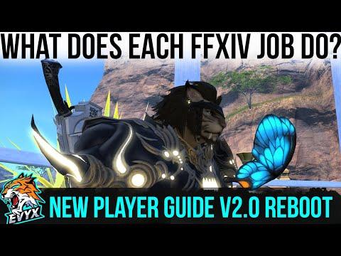 FFXIV Job Breakdown! What each job DOES! [New player guide V2.0]