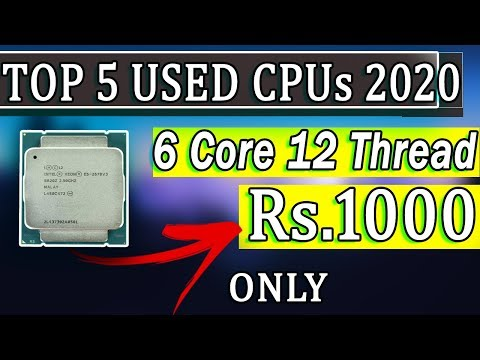 Top 5 USED CPUs For Gaming In 2020 ! Best Value For Money Processors To Buy
