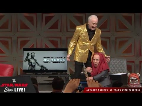 Anthony Daniels 40 Years with Threepio Panel - Star Wars Celebration 2017 Orlando