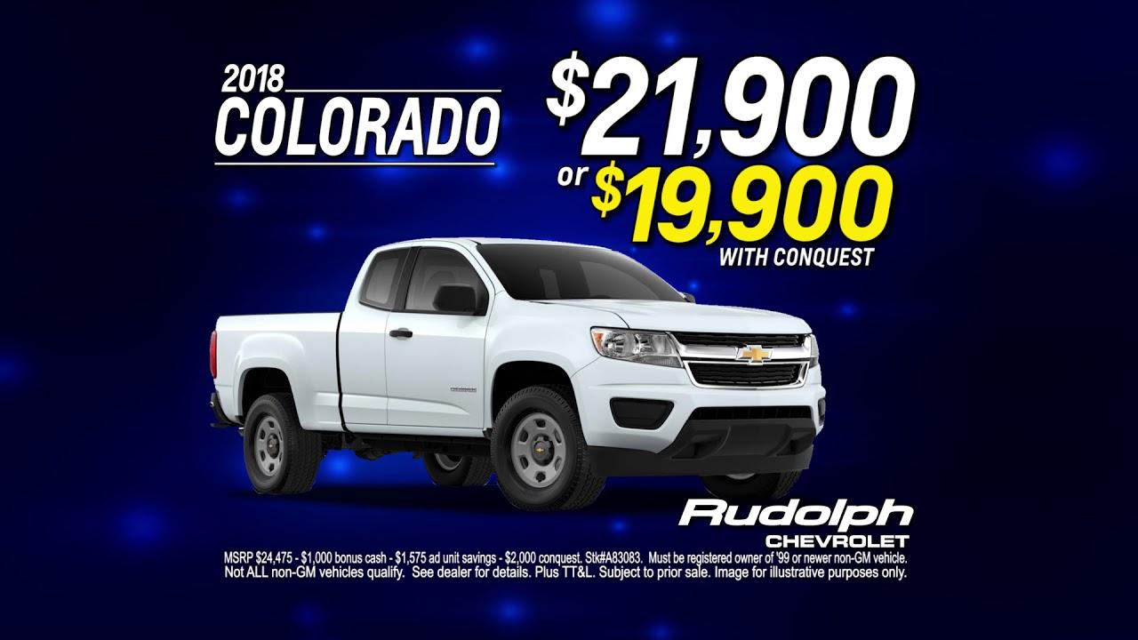 Chevy Dealership El Paso >> Rudolph Chevrolet Dealership In El Paso Tx Drive Home A 2018 Colorado Today