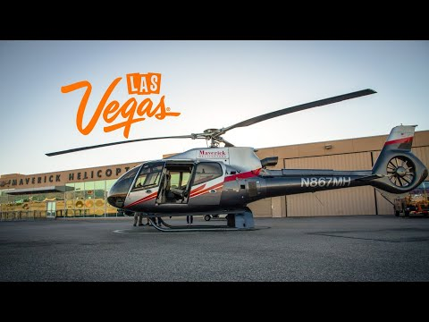 Cruising The Strip... From Above! | Maverick Helicopters