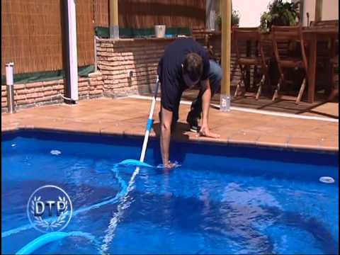 Manual de usuarios piscinas dtp espa youtube - Limpiar fondo piscina ...
