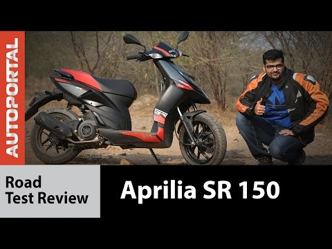 Aprilia SR 150 - Test Ride Review - Autoportal