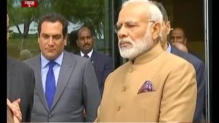 PM Modi visits Champalimaud Foundation in Lisbon
