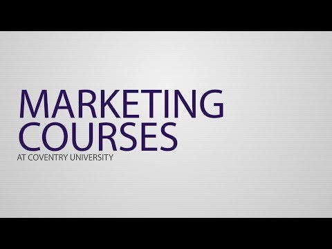 Coventry Business School  Clearing - Discover Our Marketing Courses