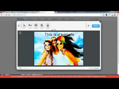 Best Chrome Extensions- Aviary, Photo Editor Application