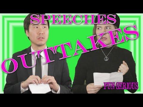 Speeches OUTTAKES