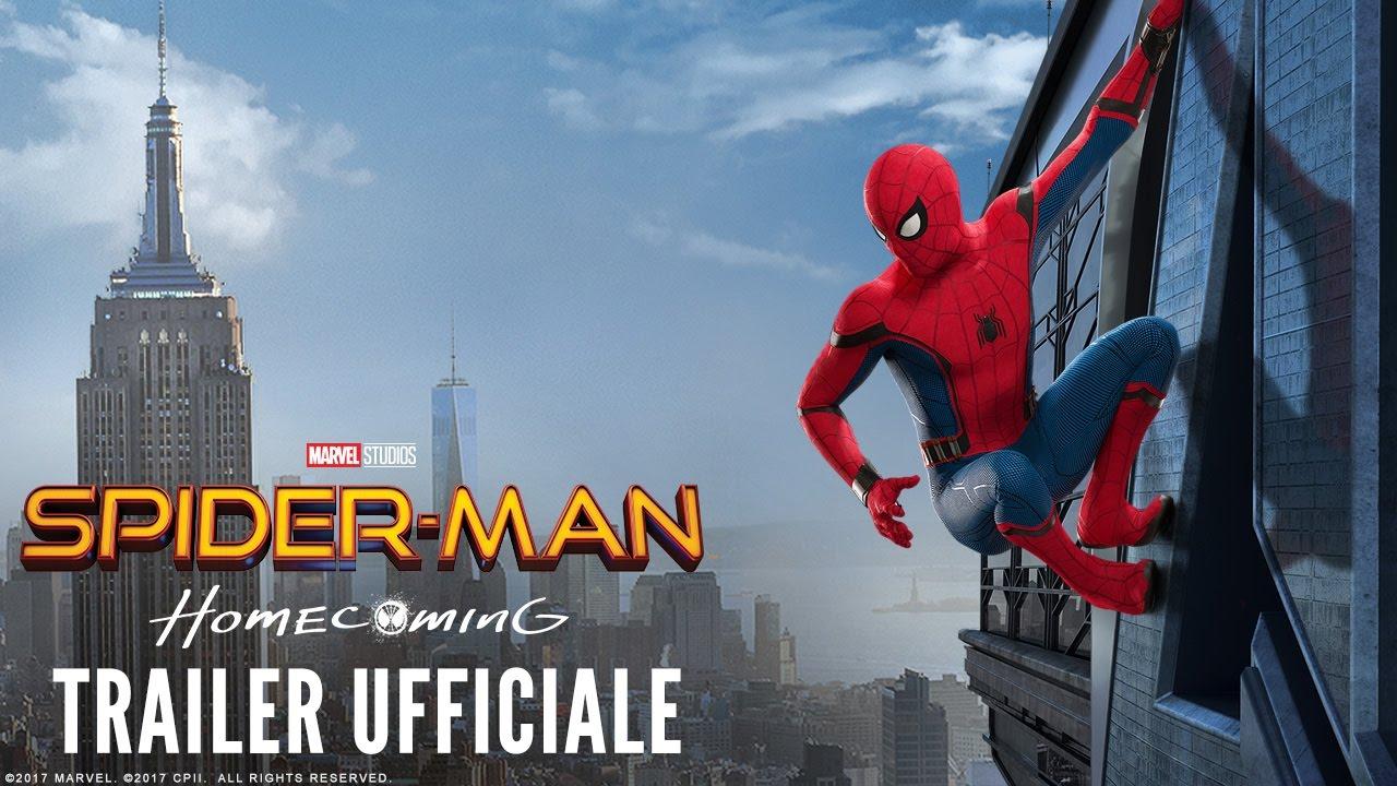 Spider-Man: Homecoming - Nuovo trailer italiano | Dal 6 Luglio al cinema