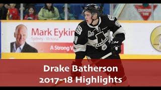 Drake Batherson 2017-18 Highlights
