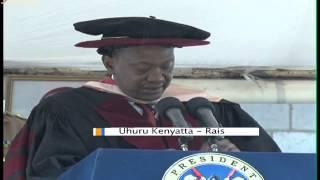 Rais Kenyatta Atuzwa Shahada Ya Uongozi