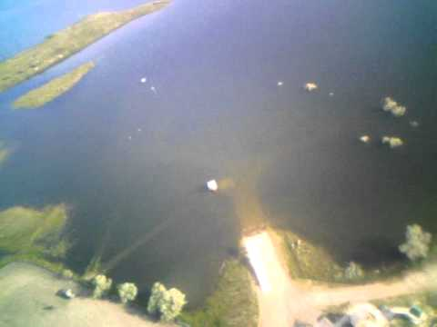 RC Parkzone Radian Flycamone2 ... at Tiber Damm in Montana