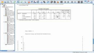 Part 3 logistic regression with spss_pasw.mp4