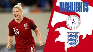 Luxembourg 0-10 England | Lionęsses Continue Goal Scoring Form in Qualifiers | Highlights
