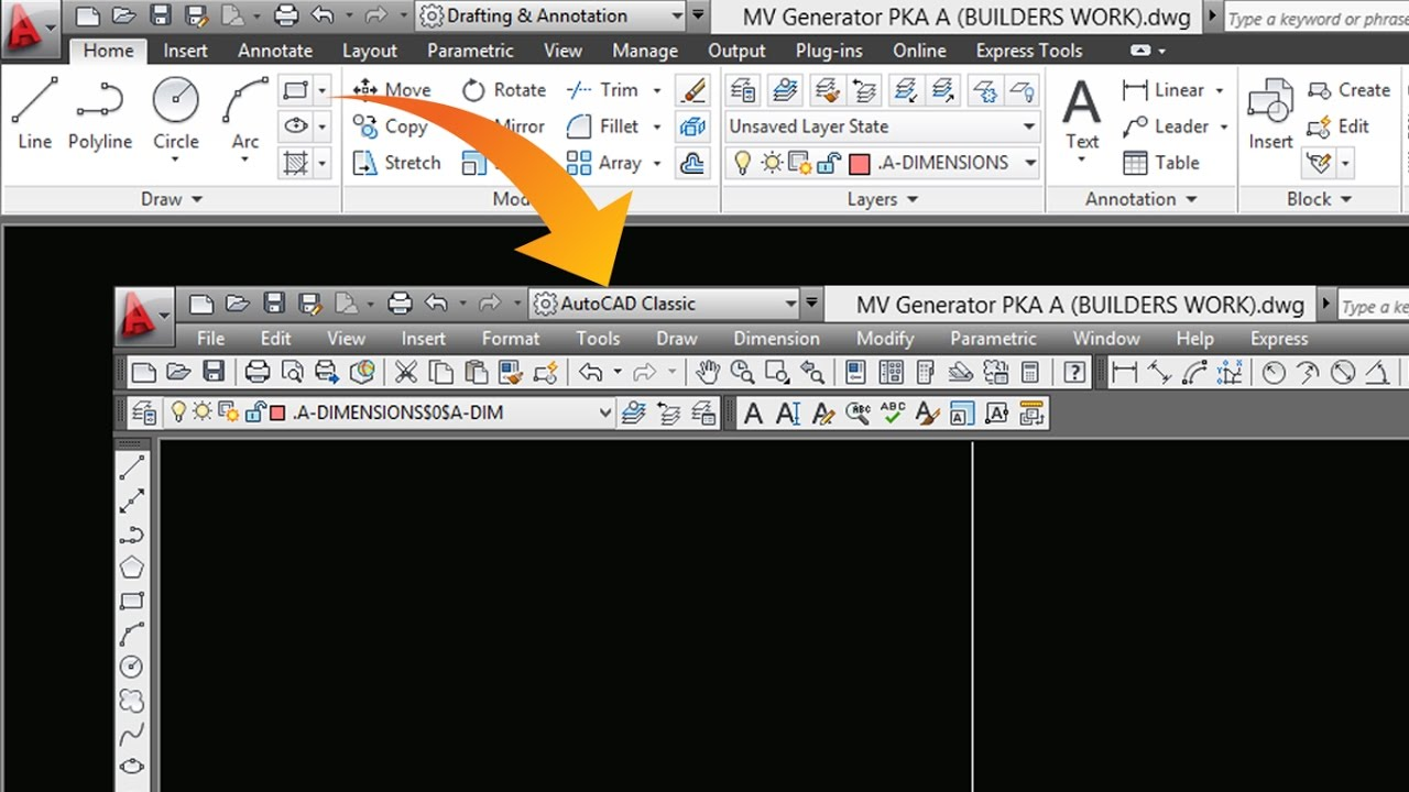 how to change units in autocad 2017