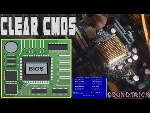CLEAR CMOS BIOS: BATTERY WAY // MOTHERBOARD GIGABYTE