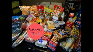 Mid July Grocery Haul & Meal Plan