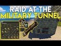 Download JACKPOT RAID AT THE MILITARY TUNNEL GIVES US ROCKET LAUNCHER! - Rust Survival #57