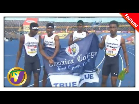 Jamaica College Dethrone Kingston College to Win Boys' Champs 2021 Title   TVJ Sports