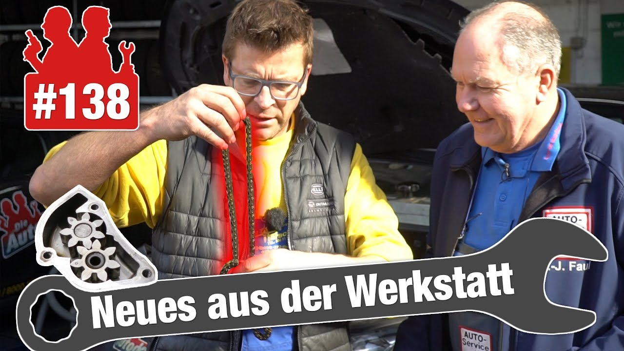 Gelängte Steuerkette im Eos: Standard-VW-Fehler? | SO kaputt ist die Ölpumpe in verbauter A-Klasse