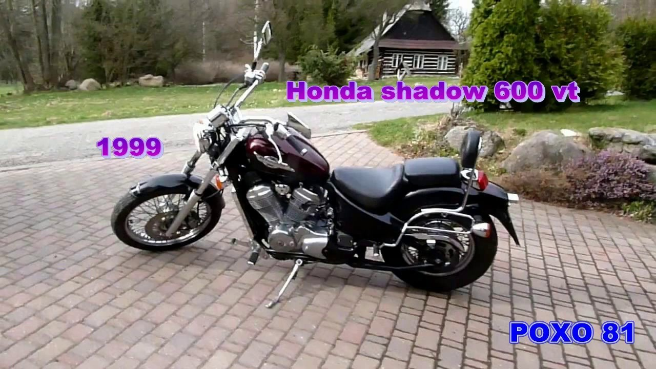 Honda Shadow Vt 600  1995 A 2005 Com Ficha T U00e9cnica E Top
