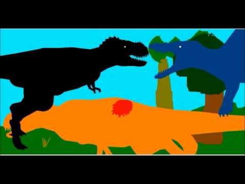 PBA : Tyrannosaurus VS Spinosaurus