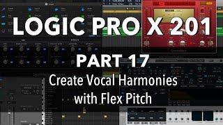 LOGIC PRO X 201 - #17 خلق التجانس الصوتية مع فليكس الملعب