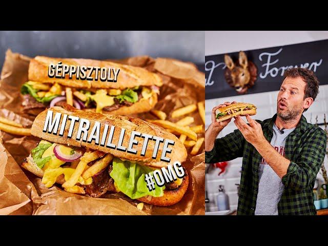 OMG: MITRAILLETTE, a legbrutálabb belga szendvics