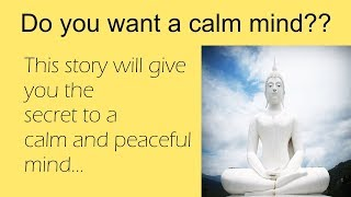 How to calm your mind