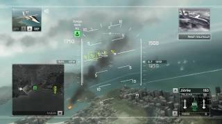 Tom Clancy's H.A.W.X. - PC Demo GamePlay FULL MAXED DX10  [HD 720p]