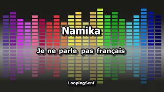 Namika - Je ne parle pas français - Karaoke