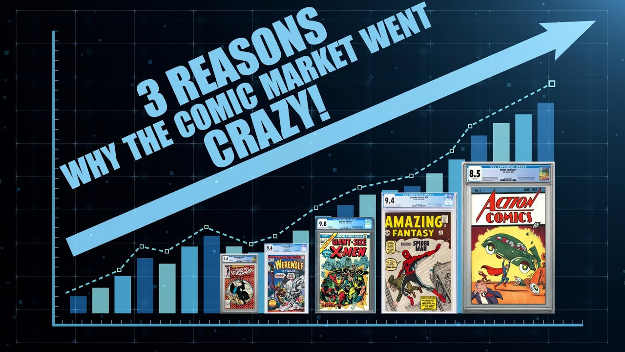 3 Reasons Why The Comic Market Went Crazy!