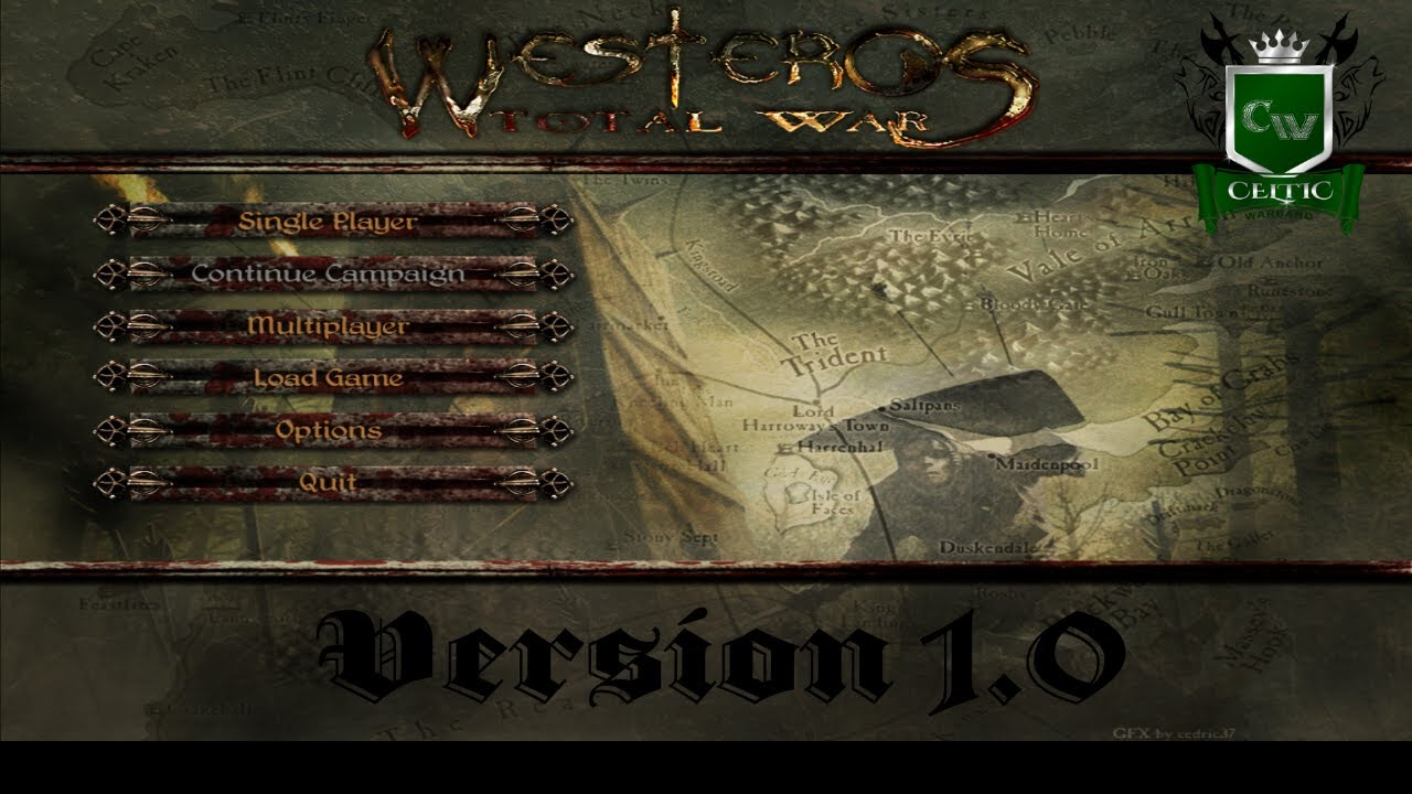 HOW TO INSTALL WESTEROS TOTAL WAR 1.0! MARCH 2018 - YouTube  HOW TO INSTALL ...