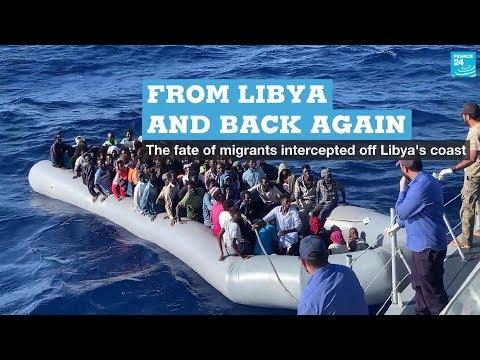 From Libya and back again: The fate of migrants intercepted off Libya's coast
