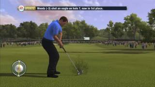 Tiger Woods PGA Tour 10 - gameplay