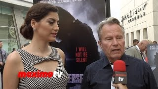 John Savage on Death Penalty   PERSECUTED Premiere   Red Carpet   Blanca Blanco