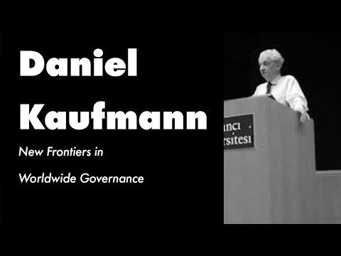 Daniel Kaufmann - New Frontiers in Worldwide Governance