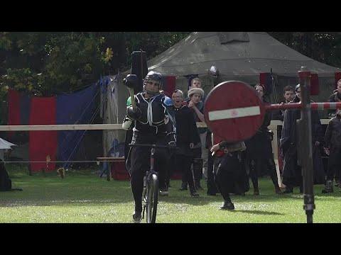 شاهد: النساء في ساحات القتال في مسابقة -دواسة برلين-
