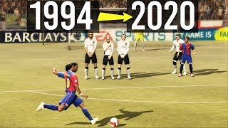 FreeKicks From FIFA 94 to FIFA 20