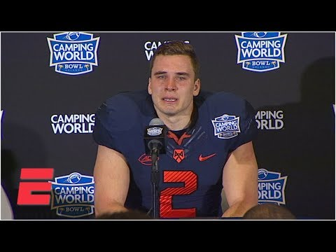 Syracuse's Eric Dungey gets emotional after final game | College Football Sound