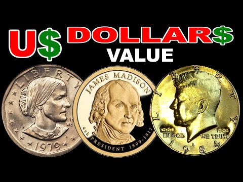 PRICE VALUE OF USA  HALF DOLLAR  SUSAN B ANTHONY , JAMES MADISON PRESIDENTIAL DOLLAR PLATED GOLD