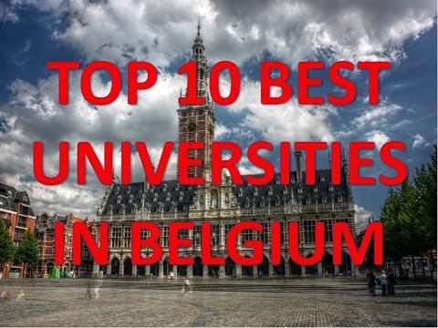 Top 10 Best Universities In Belgium/Top 10 Universidades De Bélgica