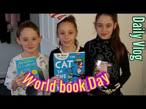 World book Day | Daily Vlog | Steve's Vlogs